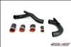 AMS Performance Lower Intercooler Piping Black Evo X/10