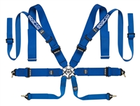 Sparco 8-Point Double Shoulder Harness