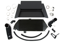 GrimmSpeed Black Thermal Dispersant Top Mount Intercooler Kit - Subaru 08-14 WRX