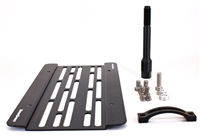 Grimmspeed License Plate Relocation Kit - 08-14 Subaru WRX and STI /05-09 Legacy / 08-11 Impreza