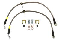 FactionFab Rear Stainless Steel Brake Lines 2008-2020 Subaru WRX