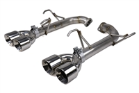 FactionFab Axle Back Exhaust w/ Polished Tips 2015-2020 Subaru WRX, STi