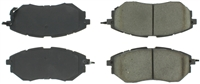 StopTech C-TEK Semi-Metallic Brake Pads - Front (2015-2019 WRX With Eyesight )