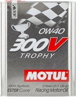Motul 300V Trophy Synthetic Engine Oil 0W40 2L