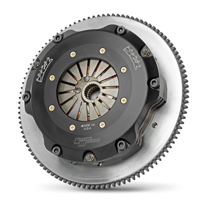 Clutch Masters Street and Race 725 Series Twin Disc Clutch Kit w/ Aluminum Flywheel 2.0L FA20 15-17 WRX 6 Speed