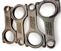 Manley Turbo Tuff Pro H Beam Connecting Rod Set ARP 2000 Bolts Evo 8/9