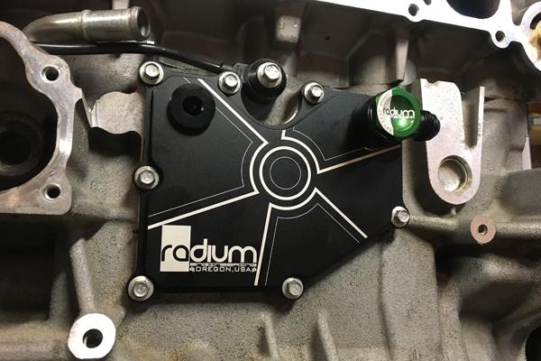 Radium Engineering Pcv Baffle Plate Kit Focus St Rs
