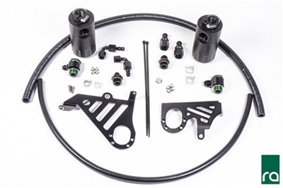 Radium Engineering Dual Catch Can Kit Focus RS