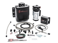 Snow Performance Stg 2 Boost Cooler Prog. Engine Mount Water-Methanol Inj. Kit (SS Braid Line & 4AN)