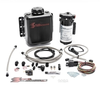 Snow Performance Stg 1 Boost Cooler F/I Water-Methanol Inj. Kit (SS Braided Line 4AN Fittings)