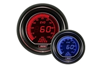ProSport Evo Series Red/Blue Digital Fuel Pressure Gauge 52mm 100 PSI