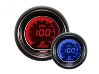 ProSport Evo Series Red/Blue Digital Oil Pressure Gauge 52mm 150 PSI