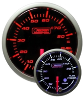 ProSport Premium Amber/White Digital Oil Pressure Gauge 52mm 85 PSI