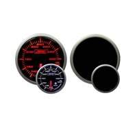 ProSport Premium Amber/White Digital Oil Temperature Gauge 52mm 300 °F