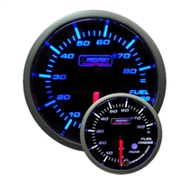 ProSport Premium Blue/White Digital Oil Pressure Gauge 52mm 85 PSI