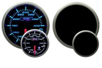 ProSport Premium Blue/White Digital Oil Temperature Gauge 52mm 300 °F