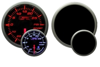 ProSport Premium Amber/White Boost Gauge 60mm 300 °F