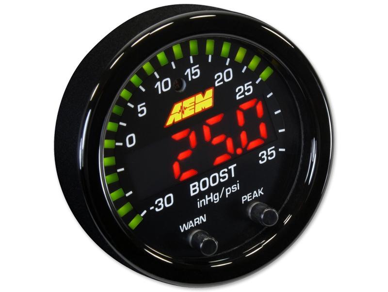 Sway Bar End Links >> AEM X-Series 35 PSI / 2.5 BAR Boost Gauge