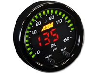 AEM X-Series 150 PSI / 10 BAR  Oil Pressure Gauge
