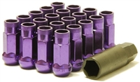 Muteki SR48 Purple Open Ended Lug Nuts M12x1.25 WRX/STI / FRS/BRZ