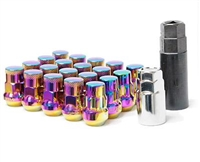 Muteki SR48 Neo Chrome Closed Ended 16 Plus 4 Lug Nuts M12x1.25 WRX/STI / FRS/BRZ
