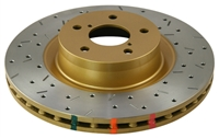 DBA 4000 Series Drilled/Slotted Front Rotors Evo x/10