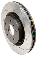 DBA 4000 Series T-Slot Slotted Rear Rotors Evo x/10