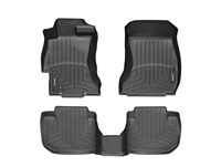 Weathertech Digital Fit Front and Rear Floor Mats 2012-2017 WRX / 2012-2017 STI