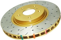 DBA Drilled & Slotted 4000 Series Front Rotor Pair