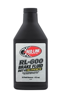 Red Line RL-600 DOT 4 Brake Fluid