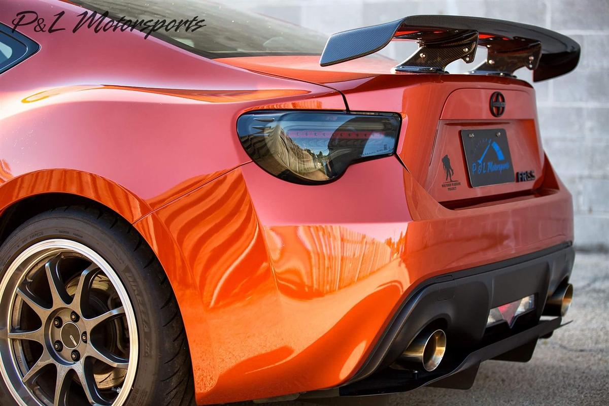 Scion Frs Turbo >> Verus Engineering Non-Agressive Rear Diffuser FRS/BRZ