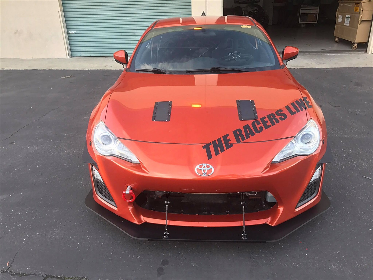 Scion Frs Turbo >> Verus Engineering Two Piece Front Splitter FRS/BRZ