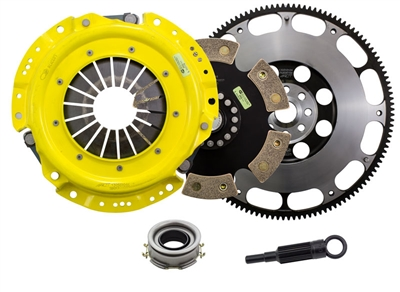 ACT 6 Pad Rigid HD Racing Clutch Kit with Prolite Flywheel FRS/BRZ