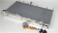 CSF Aluminum Racing Radiator w/ Built-In Oil Cooler & Kit (08 - 15 WRX/STi)