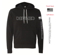 Defined Black Edition Soft Cotton Hoodie