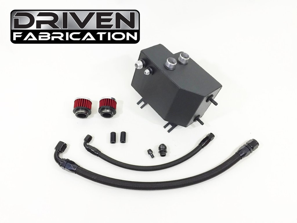 Driven Fab Catch Can / Overflow Tank Evo 8/9