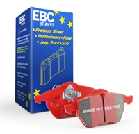 EBC Redstuff Rear Brake Pads 04-17 STI / Evo 8-9