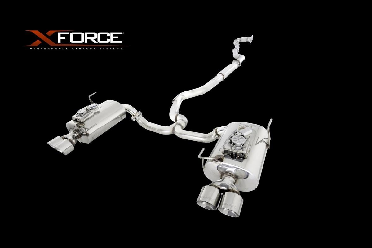 X-Force Catback w/ Varex Mufflers Matte 2015-2017 WRX / 2015-2017 STI
