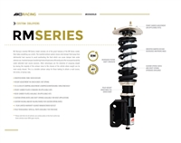 BC RM Series Coilovers 2008-2010 STI