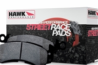 Hawk Street Race Rear Brake Pads Focus ST 13-15