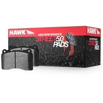 Hawk HPS 5.0 Rear Brake Pads Evo X/10