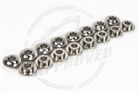 MAP Titanium Valve Spring Retainers, Set of 16 (03 - 06 Evo 8/9)