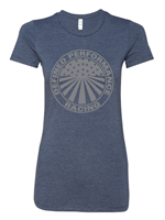 Defined Performance Soft Cotton Midnight Navy Tee Shirt ( LADIES Cut )