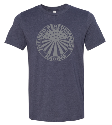 Defined Performance Soft Cotton Midnight Navy Tee Shirt