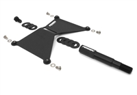 Perrin License Plate Relocation Plate Kit 08-14 WRX and STI