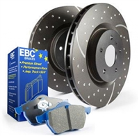 EBC Stage 6 Track Day Brake Kit - Front (2015 WRX)
