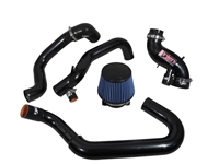 Injen Cast Aluminum Intake System w/ Full Intercooler Piping Short Ram Intake - Evo 8/9