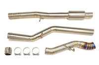 STM Single-Exit Titanium Exhaust (Focus RS)