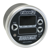 TurboSmart e-Boost2 Black Silver 60mm 60 PSI