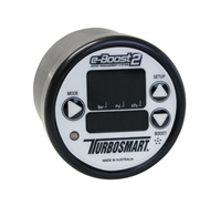 TurboSmart e-Boost2 White Black 60mm 60 PSI